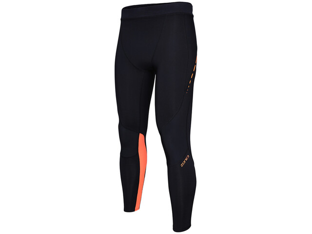 Zone3 Compression Trikoot Naiset, black/neon orange